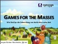 Games for the Masses (Jax)