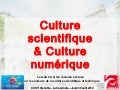 Culture scientifique & Culture numérique