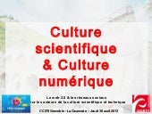 Culture scientifique & Culture numé...
