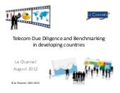 Telecom due diligence & benchmark in developing countries