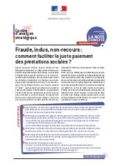 Nte d'analse du CAS : Fraude, indus...