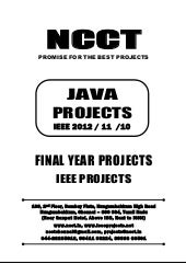 2012 11 ieee java ieee project titl...