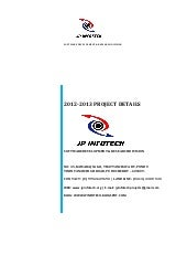 2012-2013 IEEE PROJECT TITLES