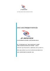 2012 13 ieee projects jp infotech b...