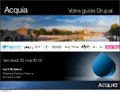 Lancement Acquia France, 25 mai 2012