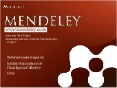 2012 mendeley teaching-presentation...