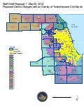 Cook County Redistricting Committee: Map of Proposed District Changes