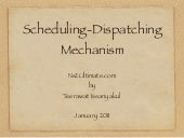An Example of Scheduling-Dispatchin...