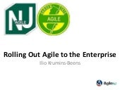 Oct 2012 Presentation for Agile NJ