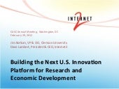 Building the Next U.S. Innovation P...