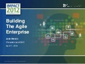 Building the Agile Enterprise: A New Model for HR