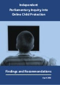 UK Independent Parliamentary Report Into Online Child Protection