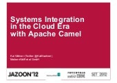 Jazoon 2012 - Systems Integration i...
