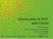 Introduction to DHT with Chord