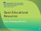 Open Educational Resources: Policy,...