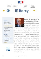 IE Bercy n°24 (11/2012) : interview...