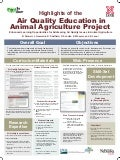 Highlights of the Air Quality Education in Animal Agriculture Project