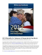 2012 Benefits for Vets and Dependen...