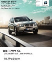 2012 BMW X3 For Sale TN | BMW Deale...