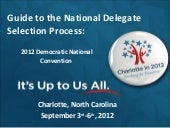 2012 democratic national convention...