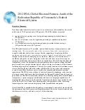 Venezuela--2012 FDA Global Electoral Fairness Audit Report (Revised April 15, 2013)