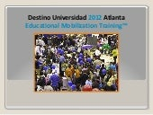 2012 Feria Destino Universidad | Ex...