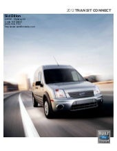 2012 Ford Transit Connect For Sale ...