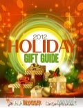 2012 holiday gift guide (final) dec. 6, 2012