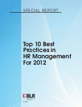 Top 10 Best Practices for Human Res...