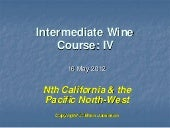 2012 Intermediate Wine Course 4: Ca...