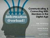 Information Overload - Building A Digital Communications Strategy