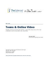 2012 pip teens and_online_video