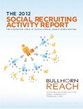 2012 Social Recruiting Activity Report