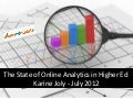 The 2012 State of Social Media and Web Analytics in Higher Ed