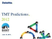 TMT Predictions 2012
