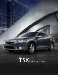2012 Acura TSX Factsheet by Acura at Oxmoor Louisville KY