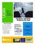 2012 UNT Advising Conference Flyer