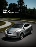 2012 Acura ZDX Factsheet by Acura at Oxmoor Louisville KY