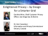 Enlightened Privacy – by Design for...