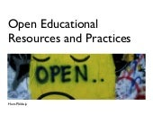 Open Educational Resources and Prac...