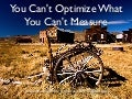 You can't optimize what you cannot measure - Lone Star PHP