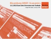 2013 US Economic Outlook - Publishe...
