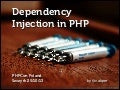 Dependency Injection in PHP