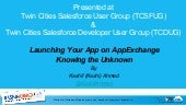 Launching an App on AppExchange - Knowing the Unknown