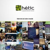 Dossier de presse - HETIC, la grand...