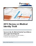 Medical Identity Theft Report 2013