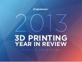 Shapeways 2013 3D Printing Year in ...