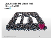 Love, Passion and Dream Jobs