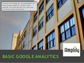 Basic Google Analytics - East Portl...