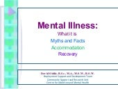 Workshop on mental health  in partn...